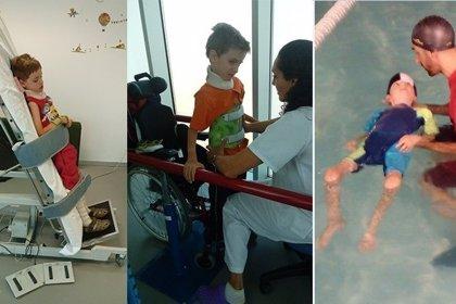 Madrid.- Lanzan una campaña de crowfunding para financiar a un niño de 7 años un tratamiento de mielitis transversa