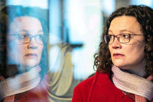 Andrea Nahles, líder del SPD