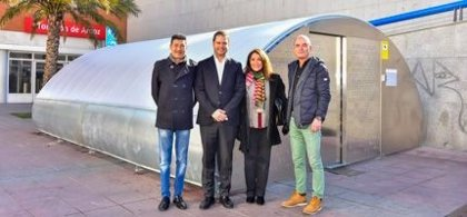 Torrejón de Ardoz lanza el primer aparcamiento 'inteligente' gratuito de bicicletas