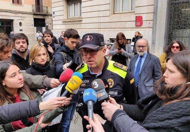 L'intendent major de la Guàrdia Urbana de Barcelona Ricardo Salas