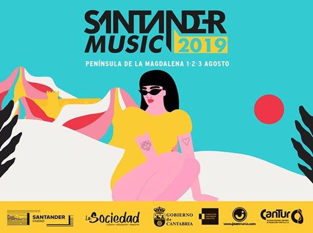 Cartel de Santander Music 2019