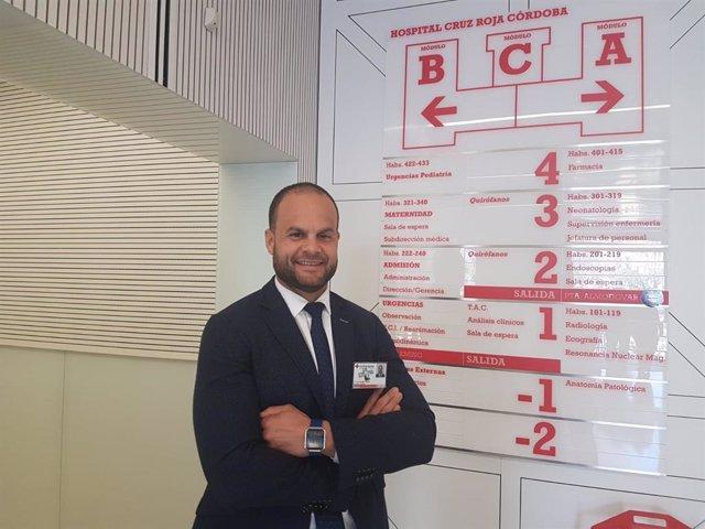 Luis Luengo, nuevo director gerente del Hospital Cruz Roja