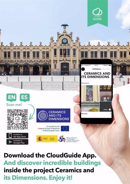 El Museo Nacional de Cerámica presenta la app 'Cerámica arquitectónica en Europa' con información sobre 150 edificios
