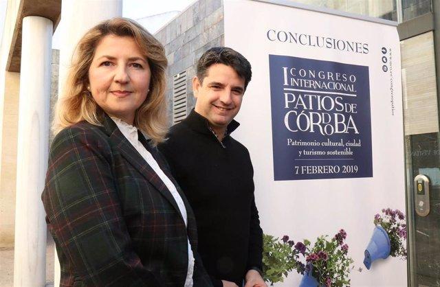 Rocío Muñoz y Pedro García