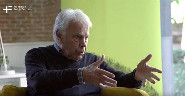 Felipe González entrevistado por la Fundación Felipe González