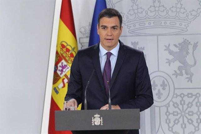 Pedro Sánchez en una foto de archivo
