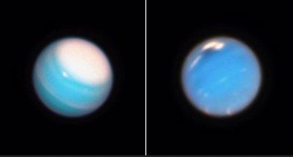 El telescopio Hubble ilustra la dinámica atmosférica de Urano y Neptuno