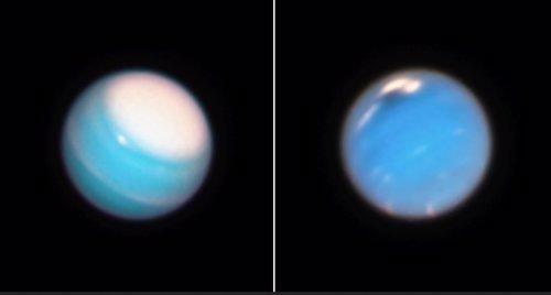 Dinámica atmosférica en Urano y Neptuno
