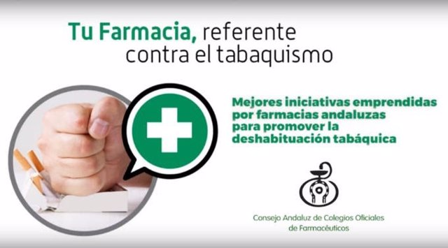 Cartel del Consejo Andaluz de Farmacéuticos