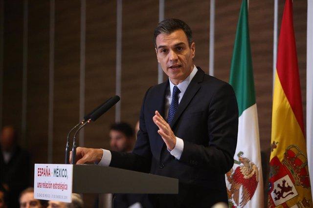 Segunda jornada de la visita de Pedro Sánchez a México