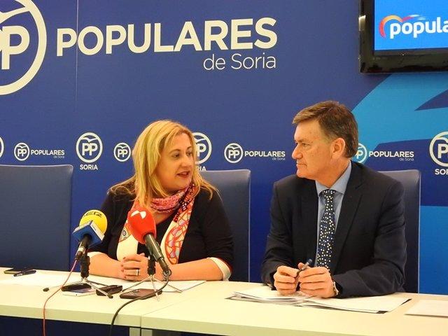 Comité Electoral de Campaña del PP en Soria.