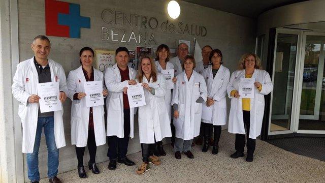 Concentración médicos Cantabria