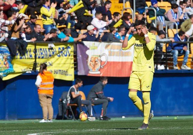 Ramiro Funes Mori con el Villarreal