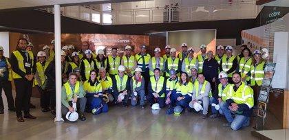 Atlantic Copper y SUEZ presentan su proyecto de optimización de recursos hídricos de la fundición y refinería de Huelva