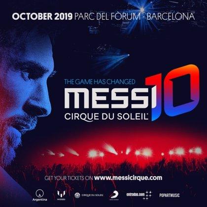 L'espectacle de Messi del Cirque du Soleil ven 20.000 entrades a la prevenda