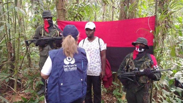 El ELN libera a un soldado secuestrado
