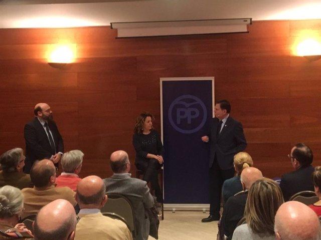 Agustín Iglesias Caunedo, Teresa Mallada y Alfredo Canteli