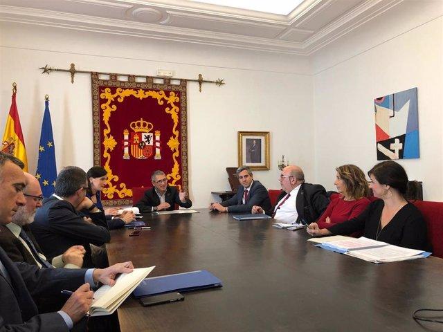 Reunión Morán informe CEDEX