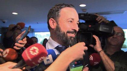 """Abascal dice que Vox """"es un instrumento para expulsar al nacionalismo, al populismo y al filoterrorismo de Navarra"""""""