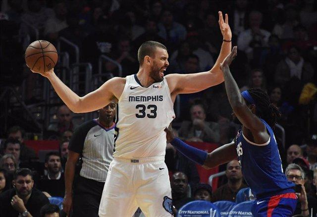 Memphis Grizzlies Marc Gasol Los Angeles Clippers Montrezl Harrell