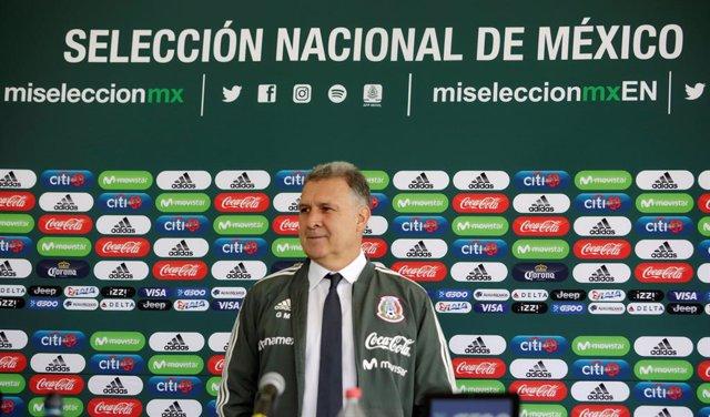 Gerardo Martino, seleccionador de México