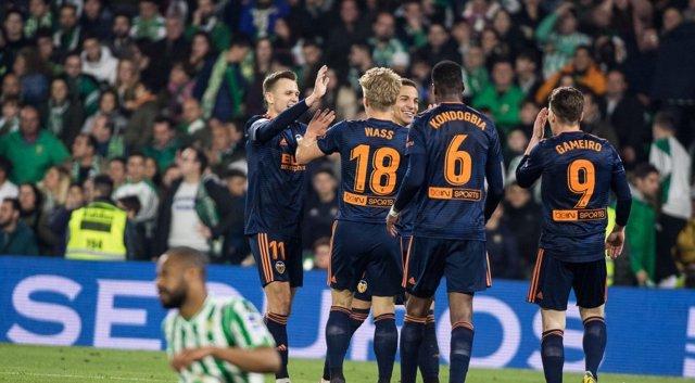 Resultado de imagen de Betis 2-Valencia 2