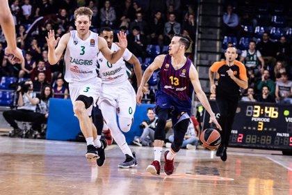 El Barça Lassa obté la segona victòria consecutiva a l'Eurolliga amb agonia i patiment