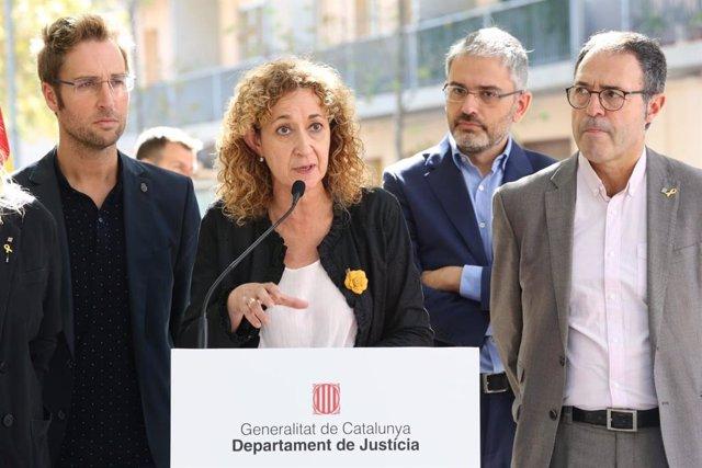 La consellera de Justícia Ester Capella