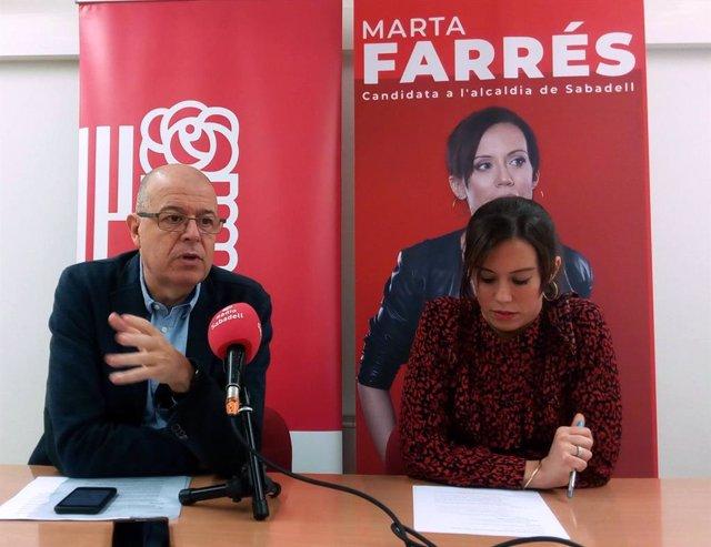 José Zaragoza i Marta Farrés en una imatge d'arxiu.
