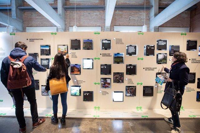 L'AMB apropa l'urbanisme a la ciutadania amb l'exposició ?Metrpolis de ciut