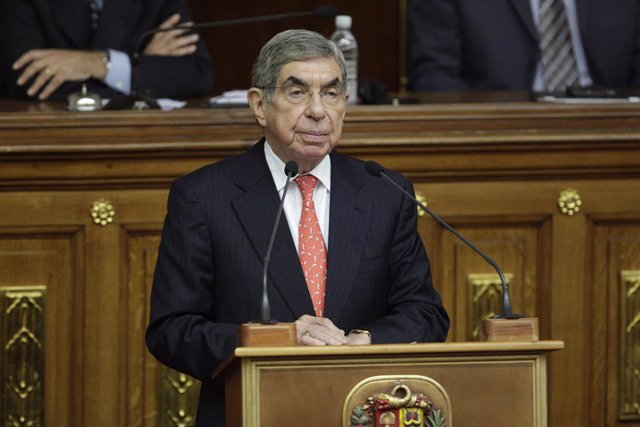 Oscar Arias, 1987 Nobel Peace Prize Laureate and former president of Costa Rica,