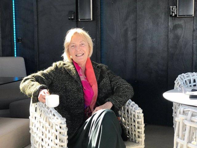 L'escriptora Soledad Puértolas