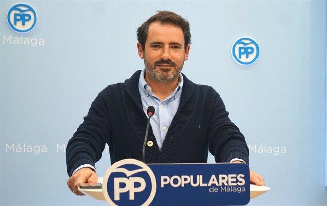Jose Ramón Carmona, portavoz del PP de Málaga