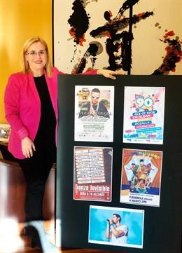 Ana mula alcaldesa de fuengirola presenta actuaciones marenostrum festival veran