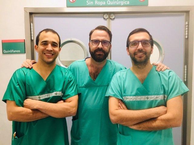 Expertos del Hospital Vithas Nisa Virgen del Consuelo que realizan uretoplastias