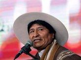 """Foto: Morales reprocha a EEUU que envíe ayuda humanitaria tras """"asfixiar económicamente"""" a Venezuela"""