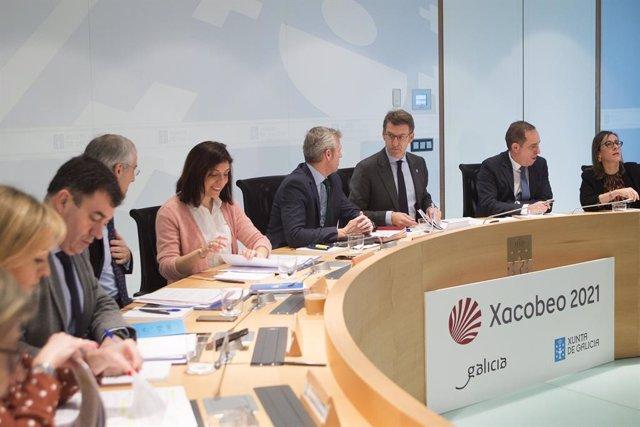 Reunió del Consell de la Xunta