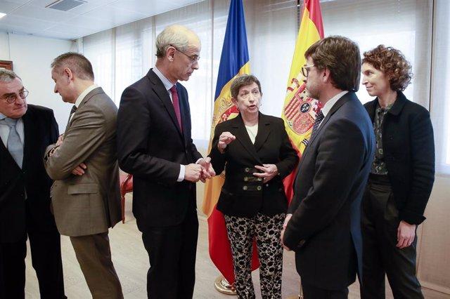 Visita Delegada Del Govern D'espanya A Catalunya.08-02-2019