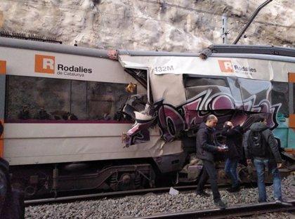 La persona morta en el xoc frontal de dos trens a Castellgalí és la conductora d'un dels combois