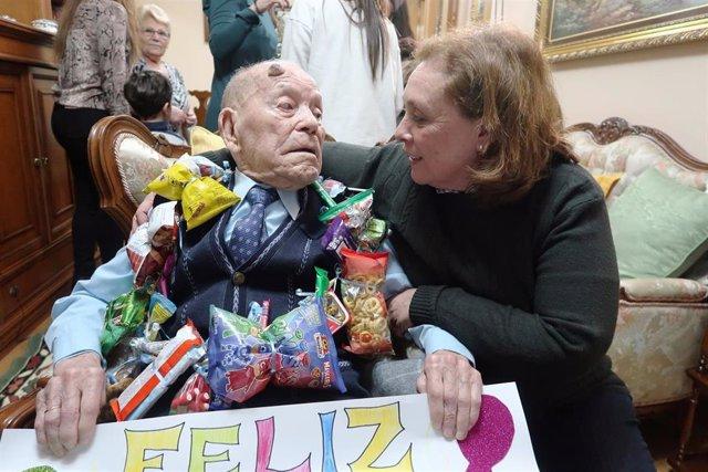 Cumpleaños de un centenario