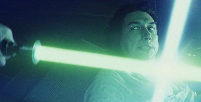 Kylo Ren en Star Wars: Los últimos jedi