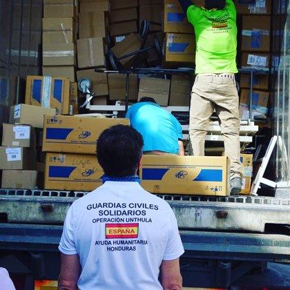 Guardias Civiles Solidarios de España repartirán en marzo 14 toneladas de ayuda humanitaria en Honduras
