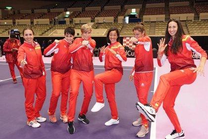 Espanya i el Japó empaten en la primera jornada de la Copa Federació