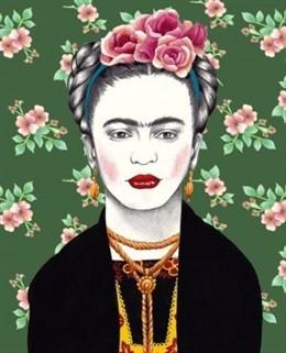 Exposición sobre Frida Kahlo.