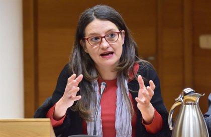 """Oltra: """"Si ha de ser un relator, que sigui una relatora, que sobra testosterona i falta molta oxitocina"""""""