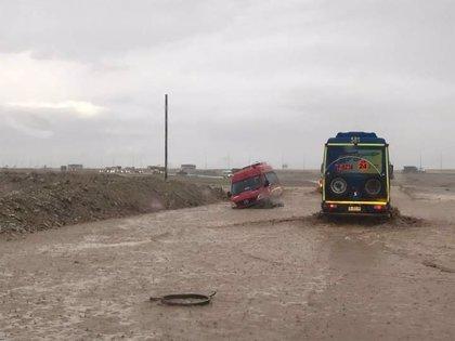 Las inundaciones en el norte de Chile dejan al menos seis muertos