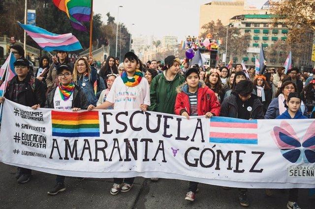 Amaranta Gómez, la primera escuela transgénero en Chile