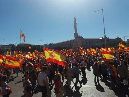 """PP, Cs i Vox convoquen milers de persones aquest diumenge a Madrid """"per una Espanya unida"""" i per demanar """"eleccions ja"""""""