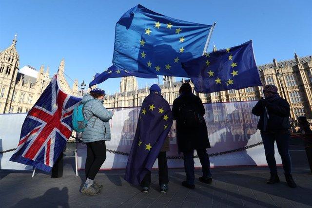 Anti-Brexit protest in London