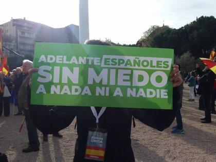"""Rivera, sobre la concentració a Madrid: """"Una majoria de ciutadans no aguanta ni una concessió més al separatisme"""""""
